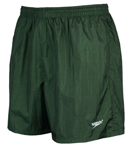 SPEEDO Solid Team Shorts (XXS, XS, XL Only) (Forest Green (031))