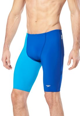 SPEEDO Men's LZR Racer Pro Jammer with Contrast Leg (Speedo Blue (431))