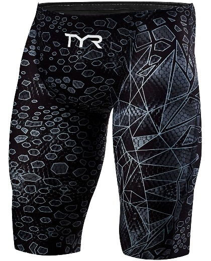 TYR MEN'S  SWIMSUIT (Black/Grey (088))