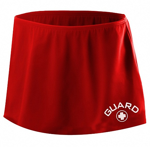 TYR Women's Guard Skirt - Adult (Red (610))